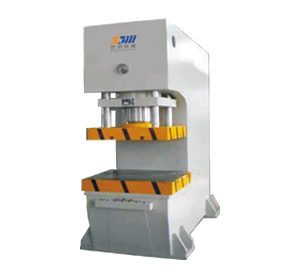 Single column hydraulic press machine