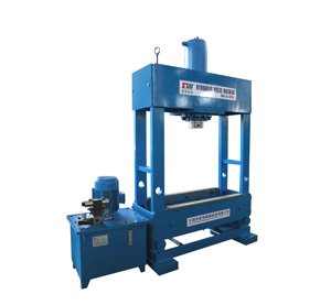 Frame type hydraulic press machine
