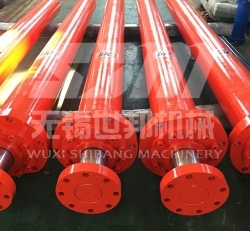 Rod end flange engineering hydraulic cylinder