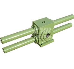 Rack and pinion hydraulic cylinder