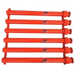 Foot-mounted heavy-duty hydraulic cylinder