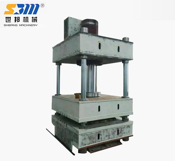 三梁四柱微型液压机